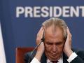 Žantovský drsne a pravdivo: Prezident Zeman psychicky nie je v poriadku, zmeny sú viditeľné
