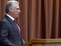 Kubánsky prezident varuje pred energetickou krízou: Máme nedostatok nafty, tvrdí