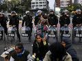 Ľudia v Argentíne sa búria: Protestujú proti úradom, chcú aby vyhlásili potravinovú krízu v krajine