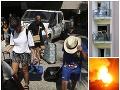 Slováci zažili na Severnom Cypre ohnivé peklo: FOTO Pohotový krok Pellegriniho