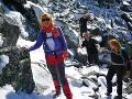Pod Tatrami záplavy, na hrebeňoch sneh: FOTO Výstraha pred mrazom, o pár dní príde Perinbaba
