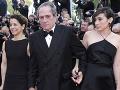 Tommy Lee Jones s manželkou a dcérou.