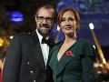 J.K. Rowlingová a Neil Murray