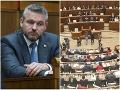 Napätie v parlamente sa nekoná: VIDEO Pellegriniho vládu poslanci podržali