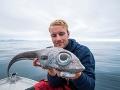 FOTO Nórsky rybár (18) vytiahol z hlbín mora rybieho mimozemšťana