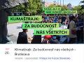 Klimaštrajk: Za budúcnosť nás všetkých - Bratislava.