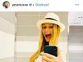 Petra Němcová je z tehotenského bruška nadšená.