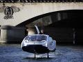 FOTO Nový vodný taxík v tvare bubliny: Bude sa uháňať hore-dolu po rieke Seina