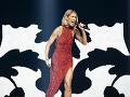 Céline Dion je momentálne na koncertnom tuné.