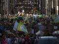 Na klimatických protestoch vyšli do ulíc miest stovky tisíc ľudí