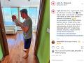 Matej Sajfa Cifra sa na Instagrame už pochválil aj fotkou svojej dcérky.