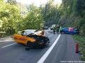 Pri zrážke dvoch áut pri Špindlerovom Mlyne zomrel jeden z vodičov