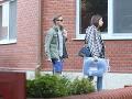 Matej Sajfa Cifra a Patrícia Ostrihoňová niesli do pôrodnice aj modrý vankúš.