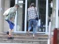 Matej Sajfa Cifra a Veronikina sestra, Patrícia Ostrihoňová, prišla v sobotu popoludní do nemocnice.