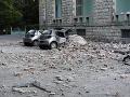 FOTO Silné zemetrasenie v Albánsku: Najmenej sto dotrasov, poškodené domy a 105 zranených