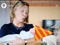 Matej Sajfa Cifra sa pochválil aj fotkou malej Sáry s babkou - moderátorovou mamou.