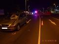 FOTO Osudné prechádzanie mimo priechodu: Košičanku (†54) zachytilo auto, zrážku neprežila