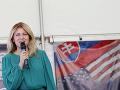 Zuzana Čaputová počas návštevy USA