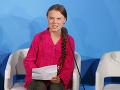 Emotívny a silný prejav švédskej aktivistky na summite OSN: Ukradli ste mi moje sny a detstvo