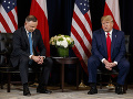 Trump a Duda podpísali dohodu o obrannej spolupráci: Rozmiestnenie amerických vojakov v Poľsku