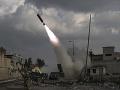 Proiránska frakcia vystrelila rakety