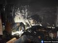 Ranná dráma v Trnave: FOTO V byte vypukol požiar a úplne vyhorel, hasiči v nasadení