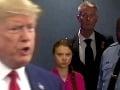 Stretnutie plné emócií: Trump sa vysmieval aktivistke, nečakane prišiel, zabíjala ho pohľadom