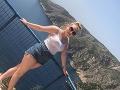 Dievčina (22) len o vlások unikla katastrofe na dovolenke v Grécku! FOTO, ktoré tomu zabránilo