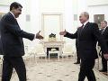 Ruský prezident Vladimir Putin (vpravo) a venezuelský prezident Nicolás Maduro .