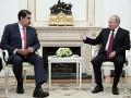 Putin sa stretol s Madurom: Vyjadril podporu nielen jemu, ale aj parlamentu