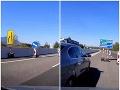 Šokujúce VIDEO z D1: Cudzinec sa držal na Žilinu, značky ho však zmiatli, takú dohru nečakal