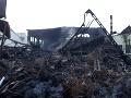 Na mieste požiaru sú stále skryté ohniská: Hasiči situáciu riešia, večer zasadá krízový štáb