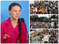 Budúcnosť planéty im nie je ľahostajná: VIDEO Boj proti zmene klímy sa nekončí, masové protesty