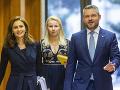 Andrea Kalavská, Peter Pellegrini a Patrícia Macíková