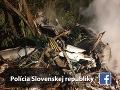 Stíhacie lietadlo MiG-29 havarovalo v časti obce Nové Sady - Ceroviny.
