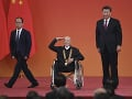 Čínsky prezident udeľoval medaily: Ocenil hrdinov a starých priateľov krajiny