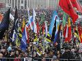Účasť na protestoch v Moskve sa im vypomstila: Za útok na verejného činiteľa do väzenia