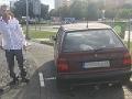 FOTO Trnavčan mal originálne vysvetlenie pre policajtov: Opitý sa vybral za láskou do Martina a...