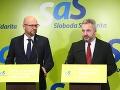 Richard Sulík a Ondrej Dostál