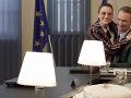 Natália Germani si strihla aj epizódnu postavu v seriáli Ministri, kde hrala milenku Tomáša Maštalíra.