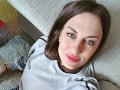 Slovenská herečka (26) vo