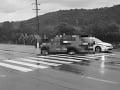 Šofér (65) zrazil na priechode pri Slovenskej Ľupči mladú ženu, po náraze skončila v tráve