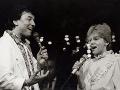 Vystúpenie Karla Gotta a Darinky Rolincovej na Bratislavskej lýre 1985.