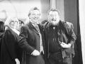 Naďa Urbánková, Karel Gott a Waldemar Matuška oslavujú 40. výročie divadla Semafor.