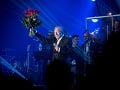Karel Gott počas koncertu LÝRA 50 - Mám rozprávkový dom, na ktorom zazneli najslávnejšie hity Bratislavskej lýry v októbri 2016.