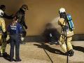 Polícia v Bruseli v akcii: Pred Európskou komisiou sa chcel upáliť muž
