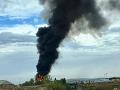 Historický bombardér havaroval tesne po štarte: Najmenej sedem ľudí nehodu neprežilo