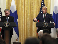 Donald Trump a fínsky prezident Sauli Niinistö
