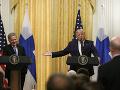 Fínsky prezident sa poklonil Trumpovi: V USA máte výbornú demokraciu