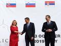Prezidenti V4 jednomyseľne podporujú vstup Srbska do Európskej únie